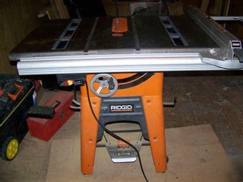 Ridgid Table Saw Ts3650 by Ridgid Table Saw Ts3650