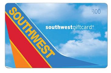 Southwest Airlines Gift Card Deals - sam s club discounted southwest airlines gift cards