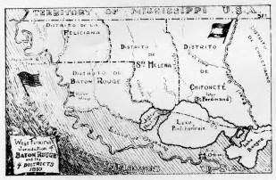 map of west florida west florida bicentennial