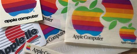 Apple Logo Aufkleber Bunt by Apple Firmenschilder Werden Versteigert Bunte 196 Pfel F 252 R