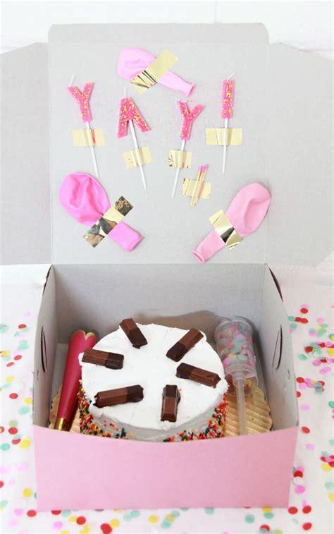 Diy Cake Happy Birthday Cake best 25 birthday box ideas on distance