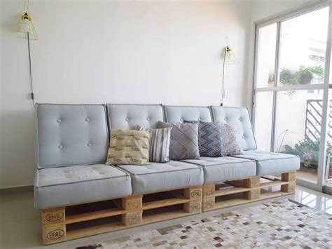 diy sofa cushions build pallet sofa with cushion diy tutorial 99 pallets
