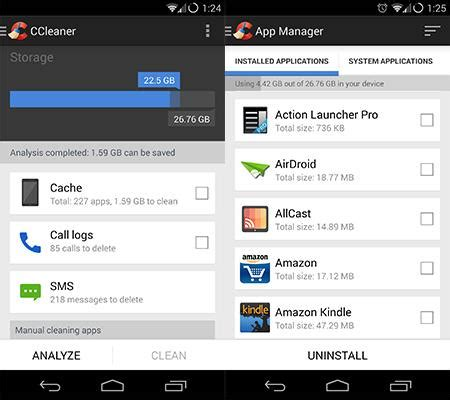 ccleaner android review ccleaner comes to android as a beta app