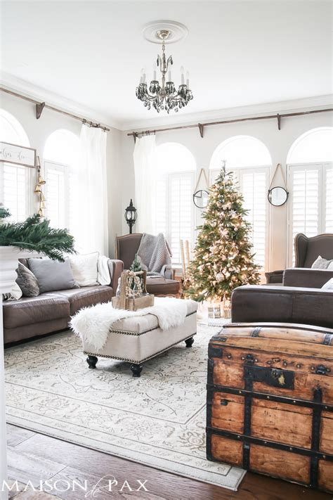 neutral home decor rustic natural neutral christmas style series the