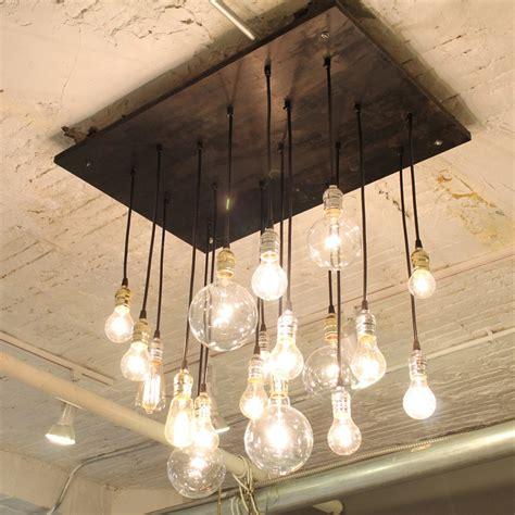 Edison Light Bulb Chandelier by Edison Light Chandelier Home