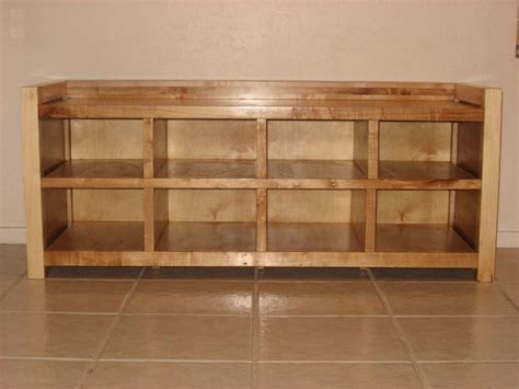 used storage bench wooden shoe storage bench plans