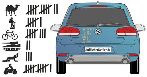 K On Autoaufkleber by Aufkleber Strichliste Autoaufkleber Abschussliste