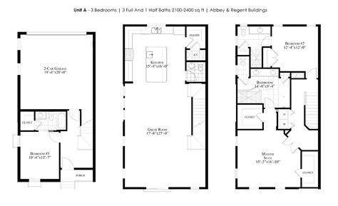 Floor Plan Sles | the brownstones at thornton park