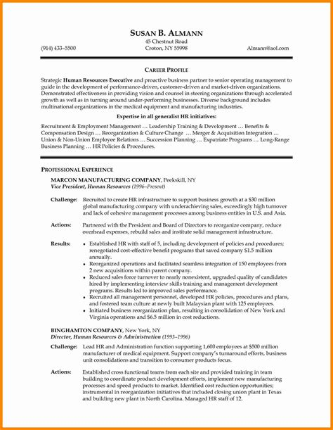 15 fresh hr manager resume format resume sle ideas