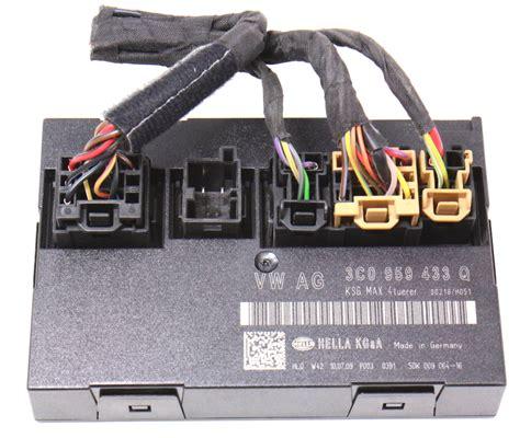 comfort control inc ccm comfort control module vw passat 06 10 b6 genuine