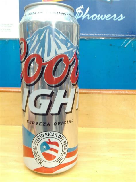 New Coors Light Can by Salud Outcry After New Coors Light Cans Feature