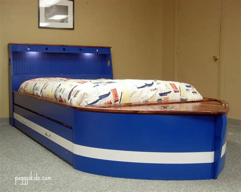 sailboat bed full size boat bed custom by chris davis lumberjocks
