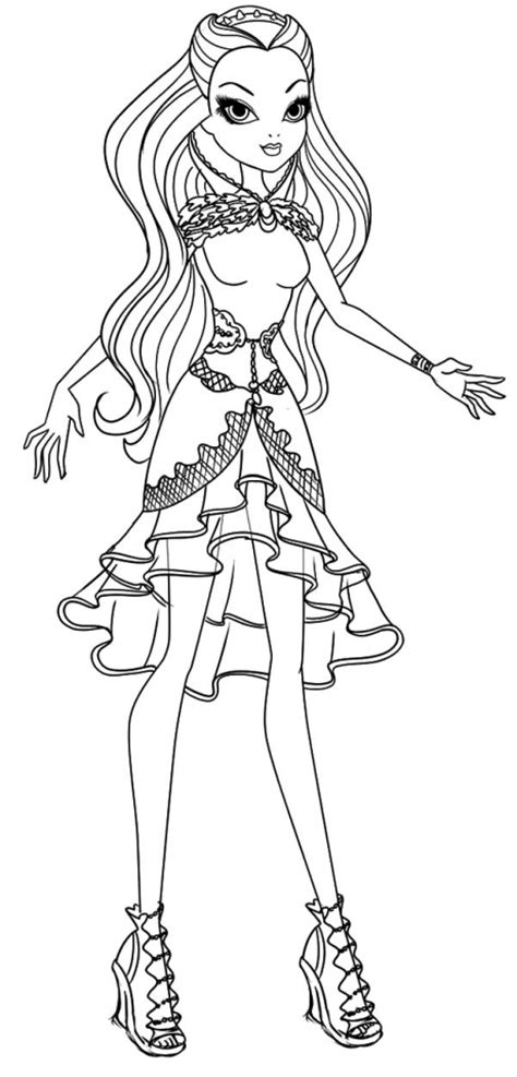 printable coloring pages ever after high get this ever after high coloring pages free printable 56449