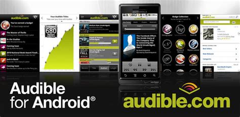 audible for android apk audible for android gets an update