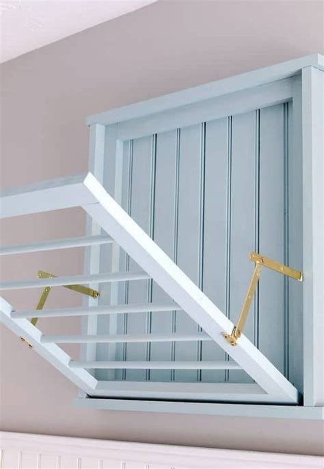 Diy Wall Mounted Drying Rack by Diy Wall Mounted Drying Rack Free Plans The Whoot