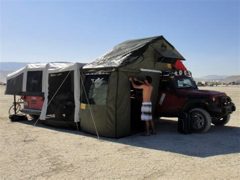 Roof Tent For Jeep Wrangler Roof Top Tent Eeeze Awn 1800t The Best All Season Tent