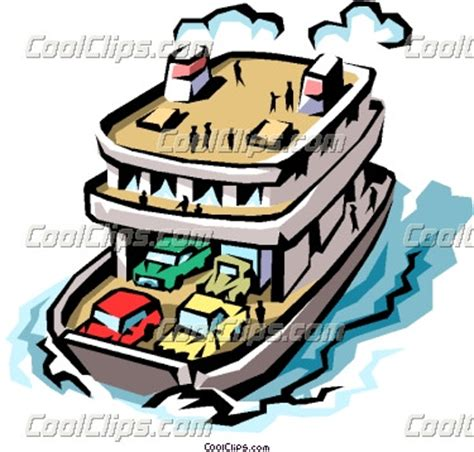 ferry boat clipart clip art of a ferry boat cliparts