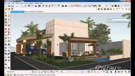 tutorial sketchup render vray v ray for sketchup render to vrimage tutorial youtube