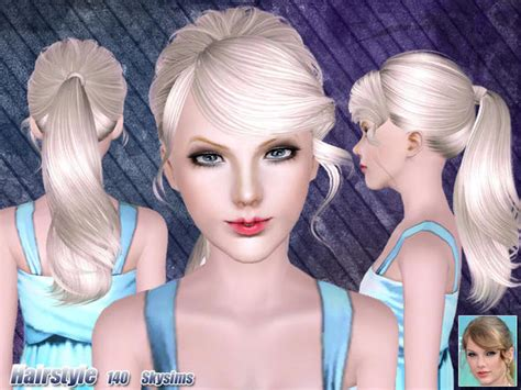 the sims resource hair sims 3 hair by skysims custom content caboodle