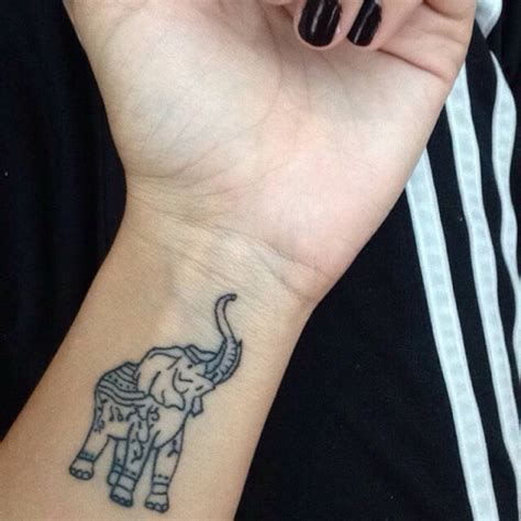 elephant wrist tattoo 46 elephant tattoos on wrists