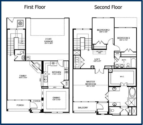 4 bedroom floor plans 2 story best of 2 story modern house floor plans new home plans design