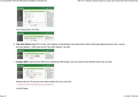 Router Untuk Media cara setting router tp link untuk fast net firstmedia subarkah