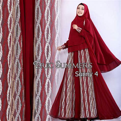 Gamis Kiena Syari Busana Muslim By Eric Summer supplier baju muslim terbaru