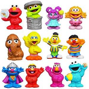 sesame street figure 2 packs wave 2 playskool sesame