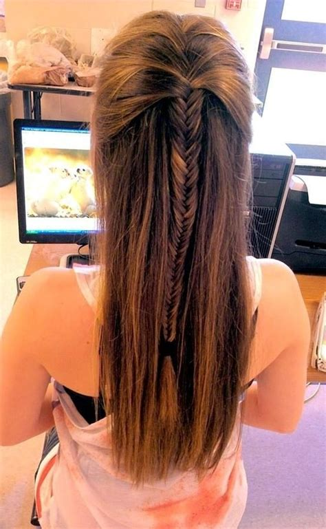 braid lol it s a simple way to do 2 french braids on thick medium 15 cute hairstyles with braids french fishtail braids