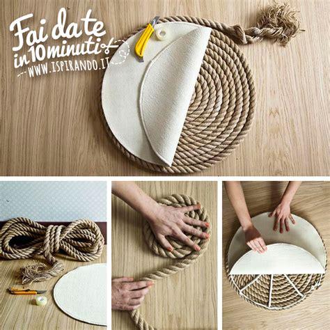 come si fa un tappeto un elegante tappeto di corda fai da te ispirando