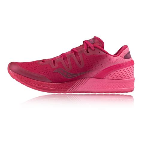 saucony pink running shoes trainer shoes saucony freedom iso womens running shoes