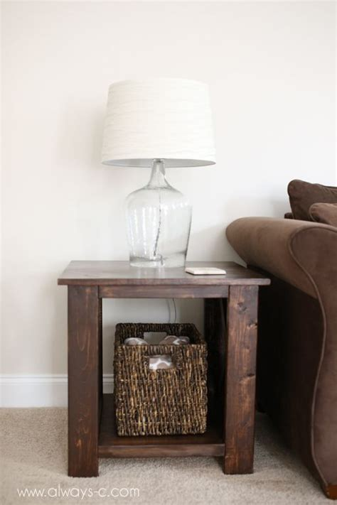diy rustic  tables woodworking projects plans