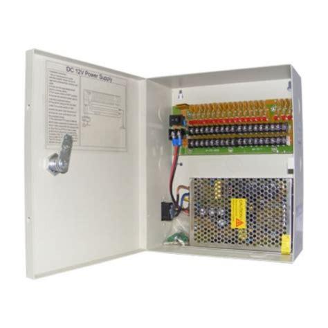 Termurah Power Supplay 12v 20 Box Khusus Cctv 18 channel cctv security power supply box
