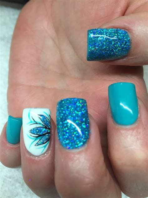 Turquoise Nail Designs