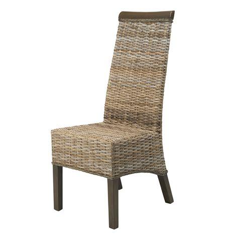 chaise en kubu soldes chaise en rotin grise berlin kubu chaise de salon ebay