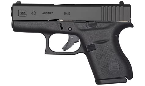 single stack 9mm pistol comparison glock 43 9mm single stack pistol sportsman s outdoor