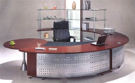 modern u shaped desk with metal office