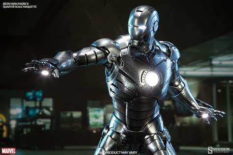Iron Man 2 Marvel Comics Stark Industries Tony Wallpaper iron man mark ii quarter scale maquette