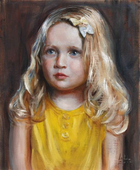 portrait painting paintings by artist arto isotalo