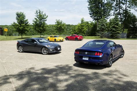 affordable sport cars comparison test affordable sports cars autos ca