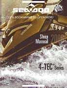 Bombardier Seadoo 2006 4 Tec Series Factory Shop Manual