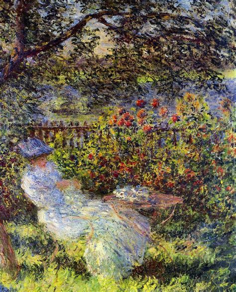 Monet In The Garden by Artists Claude Monet Part 1 Introduction