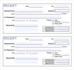 Free Receipts Template by Payment Receipt Templates 9 Free Exles Sles Format