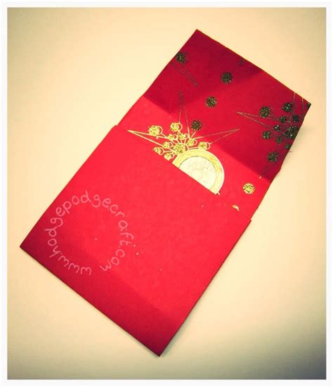 new year money in envelope lucky diy money envelopes for new year