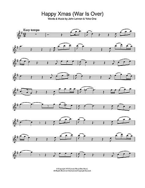 strumming pattern happy xmas war over happy xmas war is over sheet music by john lennon