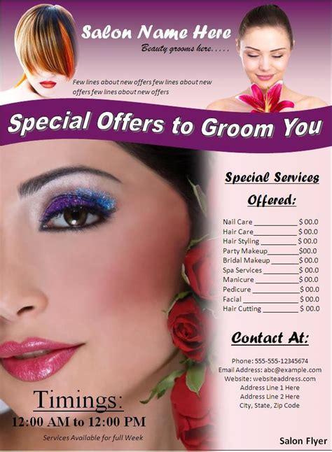Hair Salon Flyer Templates Image Gallery Salon Flyers UN Mission - Beauty salon flyer templates free