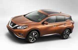 Nissan 2015 Murano 2015 Nissan Murano Reveals Crossover Makeover Slashgear
