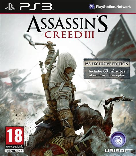 amazoncom assassins creed playstation 3 artist not assassin s creed iii for playstation 3 has quot 60 minutes of