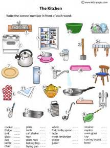 Kitchen safety colouring pages picture