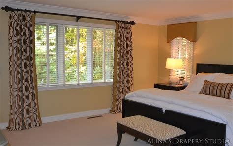 window treatments for bedrooms bedroom window curtains 4 styles of bedroom window
